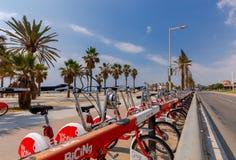 Barcellona Spiaggia della città Fotografia Stock