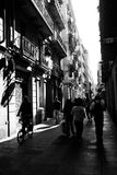Barcellona | Via Immagini Stock Libere da Diritti