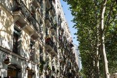 Barcellona | Via Immagine Stock Libera da Diritti