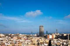 Barcellona | Via Fotografia Stock Libera da Diritti