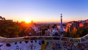 Barcelona é cidade principal e a maior de Catalonia, assim como a segunda - municipalidade a mais populoso da Espanha fotografia de stock