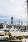 barcelona гаван Испания Стоковые Фотографии RF