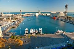 barcelona гаван Испания Стоковые Фото