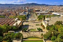 barcelona Испания Стоковое Фото