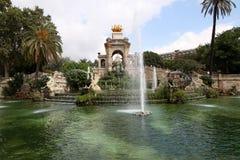 Barcelona. Fountain in Parc De la Ciutadella in Barcelona, Spain Royalty Free Stock Photo