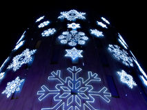 Barcelona 2009 Christmas illumination Royalty Free Stock Images
