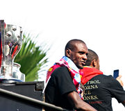 barcelona 2011 champions победитель uefa лиги fc Стоковое Изображение