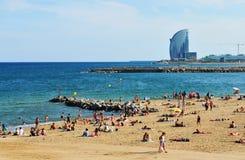 Barcelona Stockfotos