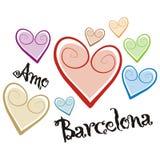 Barcelona vektor abbildung