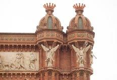 Barcelona Obrazy Royalty Free
