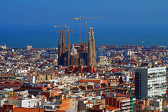 Barcelona Obraz Royalty Free