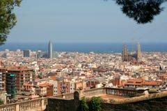 Barcelona. City of Barcelona, Catalunya, Spain Stock Image
