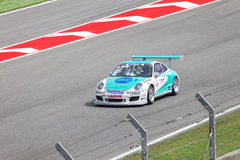 BARCELONA 9. MAI: Nick Tandy von Konrad Motorsport Stockbilder