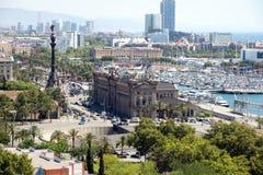 Barcelona Imagen de archivo libre de regalías
