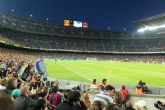Barcelona - acampamento de Nou Foto de Stock