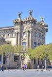 Barcelona Aduanas, se construye al principio del CEN 20 Imagen de archivo libre de regalías