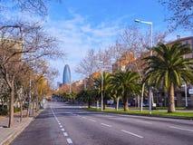 barcelona agbar torre Fotografia Stock