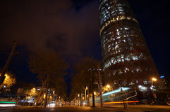 Barcelona Agbar tower Stock Photography