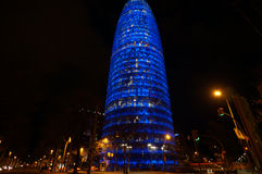 Barcelona Agbar wierza Obraz Royalty Free