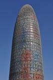 barcelona agbar wierza Spain Zdjęcia Stock