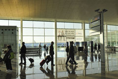 Barcelona airport Stock Photos