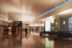 Barcelona airport Royalty Free Stock Photo