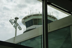Barcelona airport Control Tower Stock Photo