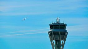 Barcelona Airport Radar Traffic Control Tower