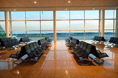 Barcelona airport Royalty Free Stock Image