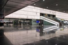 Barcelona airport Royalty Free Stock Photography