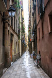 Barcelona alley Stock Photo