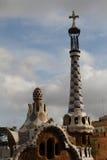 Barcelona, ana del ¼ del parque GÃ Fotografía de archivo libre de regalías