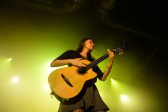Rodrigo y Gabriela band from Mexico in concert at Razzmatazz stage Royalty Free Stock Photos
