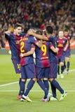 Goal celebration Stock Image