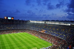 Camp Nou II Royalty Free Stock Photos