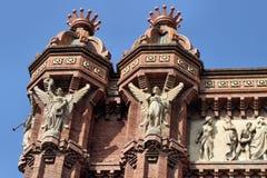 Barcelona - Arc de Triomf stock photo
