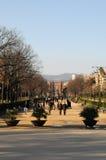 Barcelona Arc DE Triomf royalty-vrije stock afbeelding