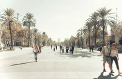Barcelona, Arc de Triomf Stock Photo