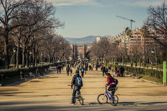 Barcelona - Arc de Triomf Stock Photography