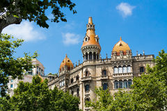 Barcelona archiecture Royalty Free Stock Photos