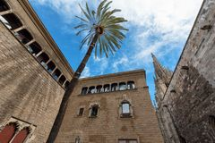 Barcelona architectural heritage stock images
