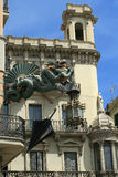 Barcelona architecture Royalty Free Stock Photos