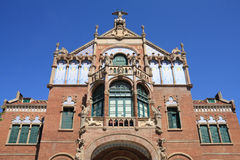 Barcelona architecture Royalty Free Stock Images