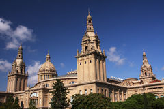 Barcelona architecture Royalty Free Stock Image