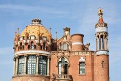 Barcelona architecture Stock Image