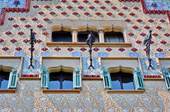 Barcelona architecture Casa Amatller Royalty Free Stock Image