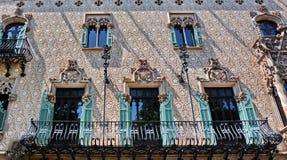 Barcelona architecture Casa Amatller Stock Photography