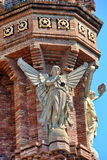 Barcelona architecture detail. Triumph Arch (Arc de Triomf) detail, Barcelona, Spain Royalty Free Stock Photo