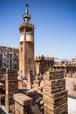 Barcelona architecture Stock Image