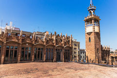 Barcelona architecture Royalty Free Stock Photography
